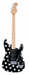 Fender Buddy Guy Standard Stratocaster with Polka Dots