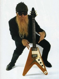 Billy Gibbons Gibson V1